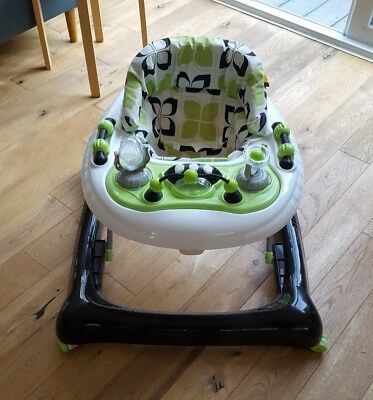kite ride in/adjustable baby walker with activity tray