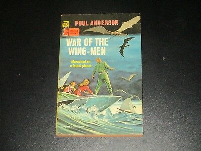 War of the Wing-Men by Poul Anderson  ACE Books G-634 1958  Vintage Pulp Sci-Fi