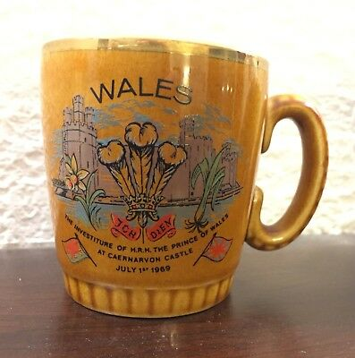 Lord Nelson Pottery England Wales The Investiture Of Hrh The Prince Of Wales