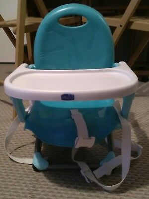 Chicco Pocket Snack foldable booster chair - Torquise