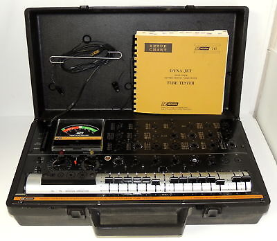 B & K Precision Dyna Jet 747B Dynamic Mutual Conductance Tube Tester - Exc Cond