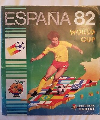 Album panini espana 82 World cup complet