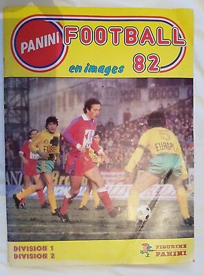 Album panini football 82 division 1 division 2 France Complet