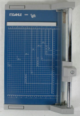 """Dahle 550 Professional Rolling Trimmer Made In Germany 14 1/8"""" L"""