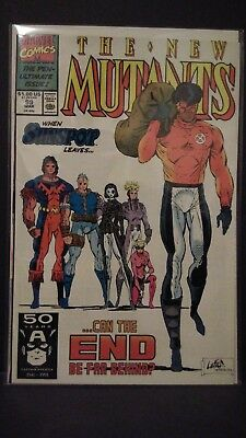 New Mutants #99 Liefeld (1st App of Shatterstar & Feral) HOT!!! VF/NM (See Pics)