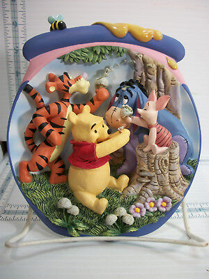 Bradford Exchange Plate Pooh's Hunnypot Adventures 9th Issue A Wish For Friends