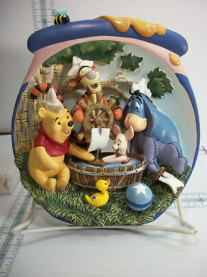 Bradford Exchange Plate Pooh's Hunnypot Adventures 10th Issue A Tub of Fun