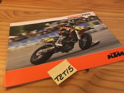 KTM onroad 2004 640 LC4 supermoto 660 SMC 640 Duke catalogue moto prospectus