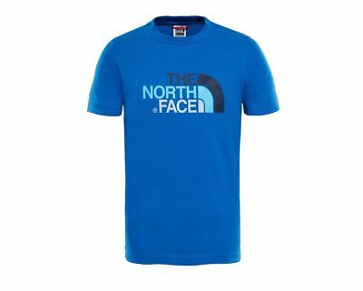 The North Face Kids T0A3P7WXN Crew Neck Boys T-Shirt Royal Blue