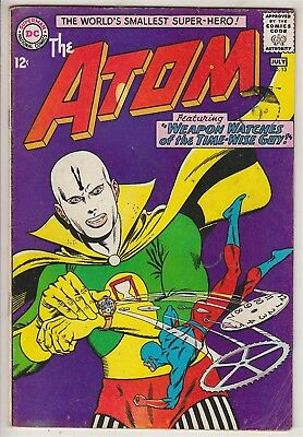 ATOM    V1 #13    FN+ / VFN-  IN HIS OWN BOOK  12cts 1964   AMERICAN DC COMIC  A