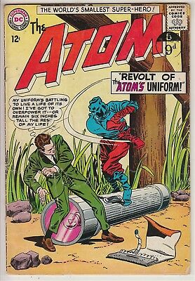ATOM    V1 #14    VG+ / VG  IN HIS OWN BOOK  12cts 1964   AMERICAN DC COMIC