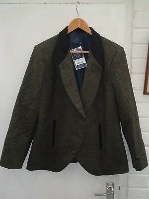 Jack Murphy Nicole Tweed Jacket  Size 10 100% Wool One Only See Pictures