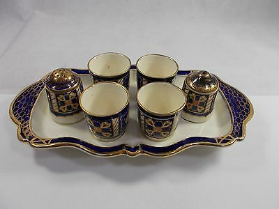Vintage ROYAL WINTON IVORY WARE EGG CUP and CRUET SET/BREAKFAST SET