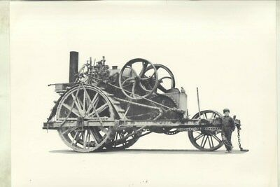 1910 ? Holt Traction Engine Farm Tractor ORIGINAL 1950's Photograph wz0676