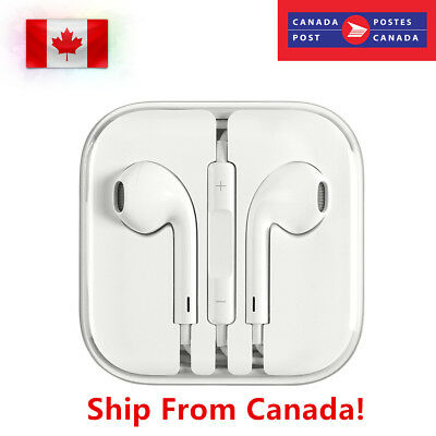 New Earphones EarBuds for Apple iPhone 8 7 6 5 S Headphones With Mic and Volume