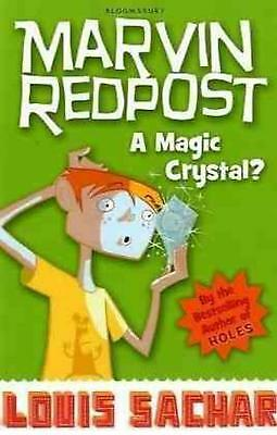 Magic Crystal? by Louis Sachar Paperback Book Free Shipping!