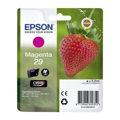 Epson C13T29834022 3.2ml 180pages Magenta ink cartridge C13T29834022