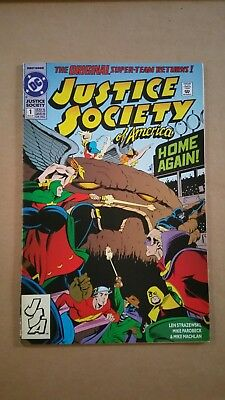 Justice Society of America #1 1st Appearance of Jesse Quick, Flash TV Show