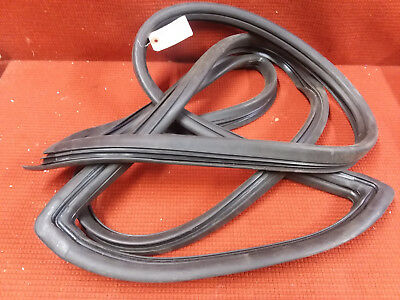 NOS 1977-79 Ford Truck / Bronco Windshield Rubber Seal with Groove for Chrome