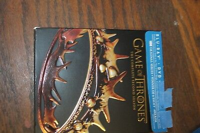 Game of Thrones: The Complete Second Season (Blu-ray/DVD, 2013, 7-Disc Set, Incl