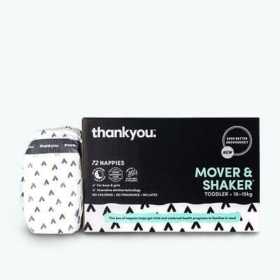 Thankyou Nappies - Mover & Shaker (Toddler: 10 - 15kg)