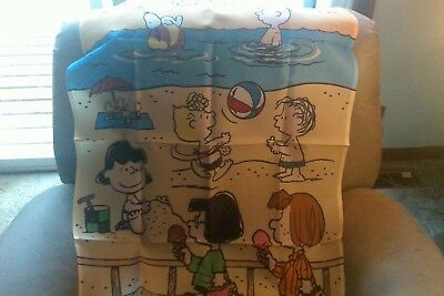 "willabee and ward snoopy beach flag 28"" x 40"""