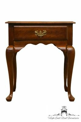 """CRESENT FURNITURE Solid Cherry Queen Anne Style 23"""" Nightstand 2239"""