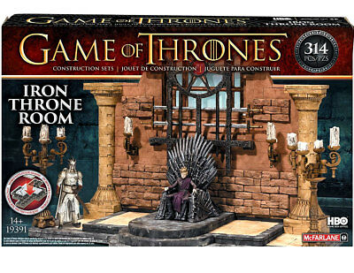 Game of Thrones Building Set Iron Throne Room