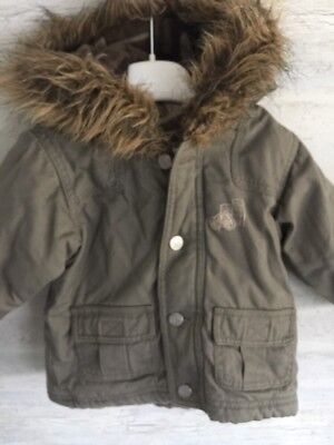 Pumpkin Patch Boys Winter Jacket - Size 0 (6-12 Months) - Great Condition!