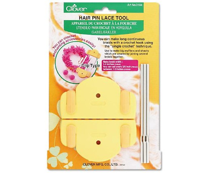 Clover Hair Pin Lace Tool