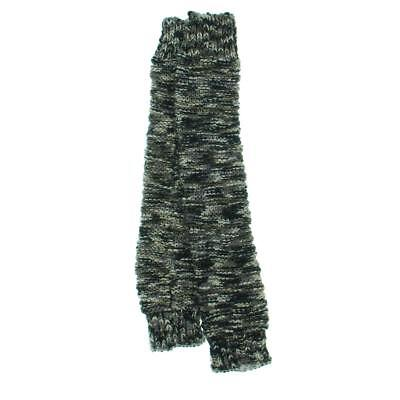 Free People 4244 Womens Mix Tape Gray Space Dye Boucle Leg Warmers O/S BHFO