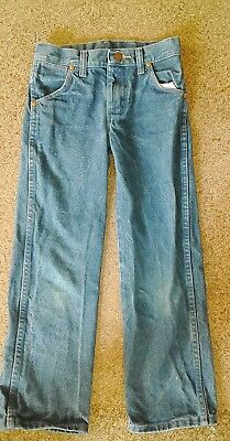 kids wrangler  jeans, childs size 8 regular boys or girls great used condition
