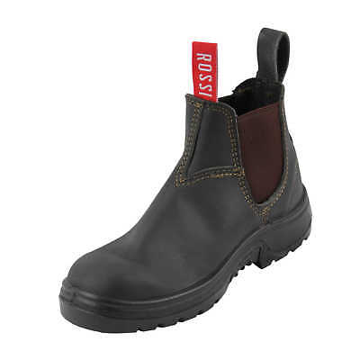 New ROSSI 900 PARKES Elastic Sided Soft Toe Work Boots (AUS/US/EU Sizing)