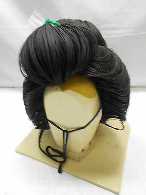 Vintage GEISHA GIRL WIG IN CASE Real Hair from Japan #15