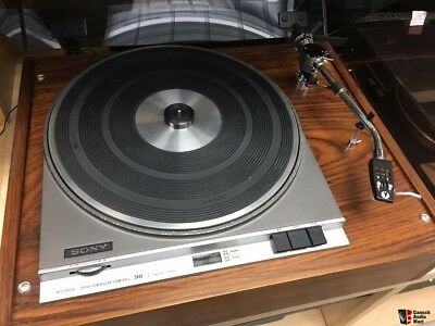SONY PS-2400 1971 VINTAGE TURNTABLE - Fully Serviced and Excellent Working order
