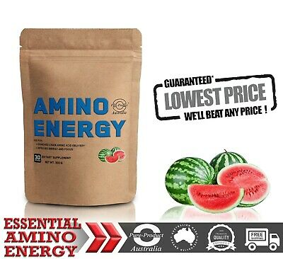 300g Essential Amino Energy 30 Serves Watermelon Flavour