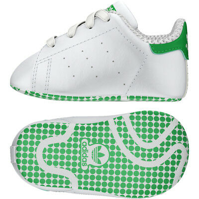 the best attitude 19361 4b782 Scarpe Adidas Kids - Stan Smith Crib - Bianco Verde - B24101