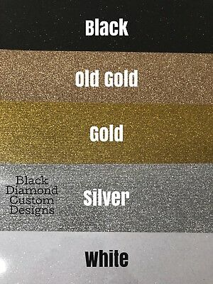 "Siser Glitter Heat Transfer Vinyl Sheets HTV - In Australia 12""x 8"" Sheets"