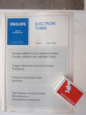 Phillips  electron Tubes  1970 illustrated