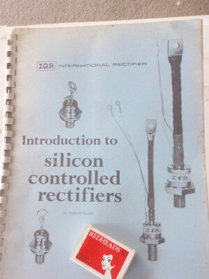 Silicon Controlled Rectifiers  training manual  illustrated 1968