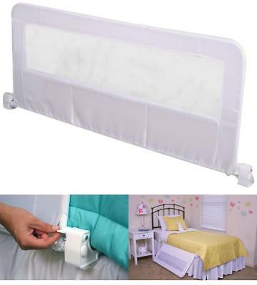 43 Inch Long Swing Down Bedrail Adjustable Toddler Adult Queen Size Bed Rail NEW