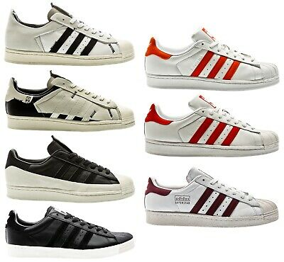 best website 2d53f 49c1a Adidas Superstar 80s Clean Blanc Blanc Homme Baskets Chaussures Homme  Chaussures