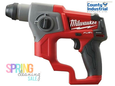 Milwaukee M12CH-0 COMPACT SDS DRILL BODY ONLY
