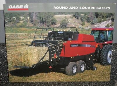 Case IH Tractor Dealership Sales Brochure Manual Guide ROUND AND SQUARE BALERS