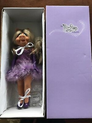 "Tonner 11"" Miss Piggy Basic Collectible Doll From The Miss Piggy Collection!"