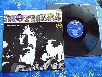 Frank Zappa & Mothers  ♫ Absolutely Free ♫ Rare  German Verve Records ♫  #4