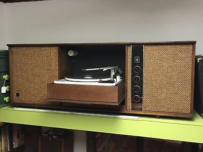 Atomic 1962 GE Wall Mounted Mid Century Modern Stereo Record Player