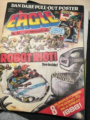 Eagle Comic 302 2nd January 1988