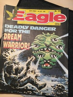 Eagle Comic 328 2nd July 1988