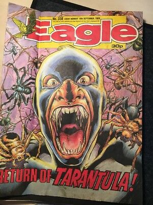 Eagle Comic 338 10th September 1988